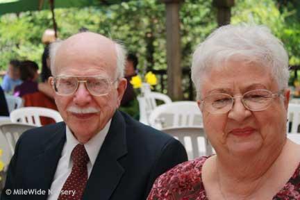 Steve's parents, Clay (Pa) and Grandma Sarah
